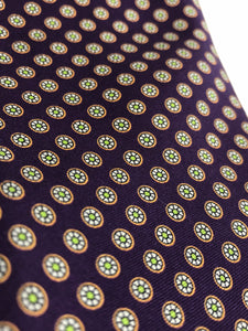 Custom Purple Tie | 100% Pure Silk