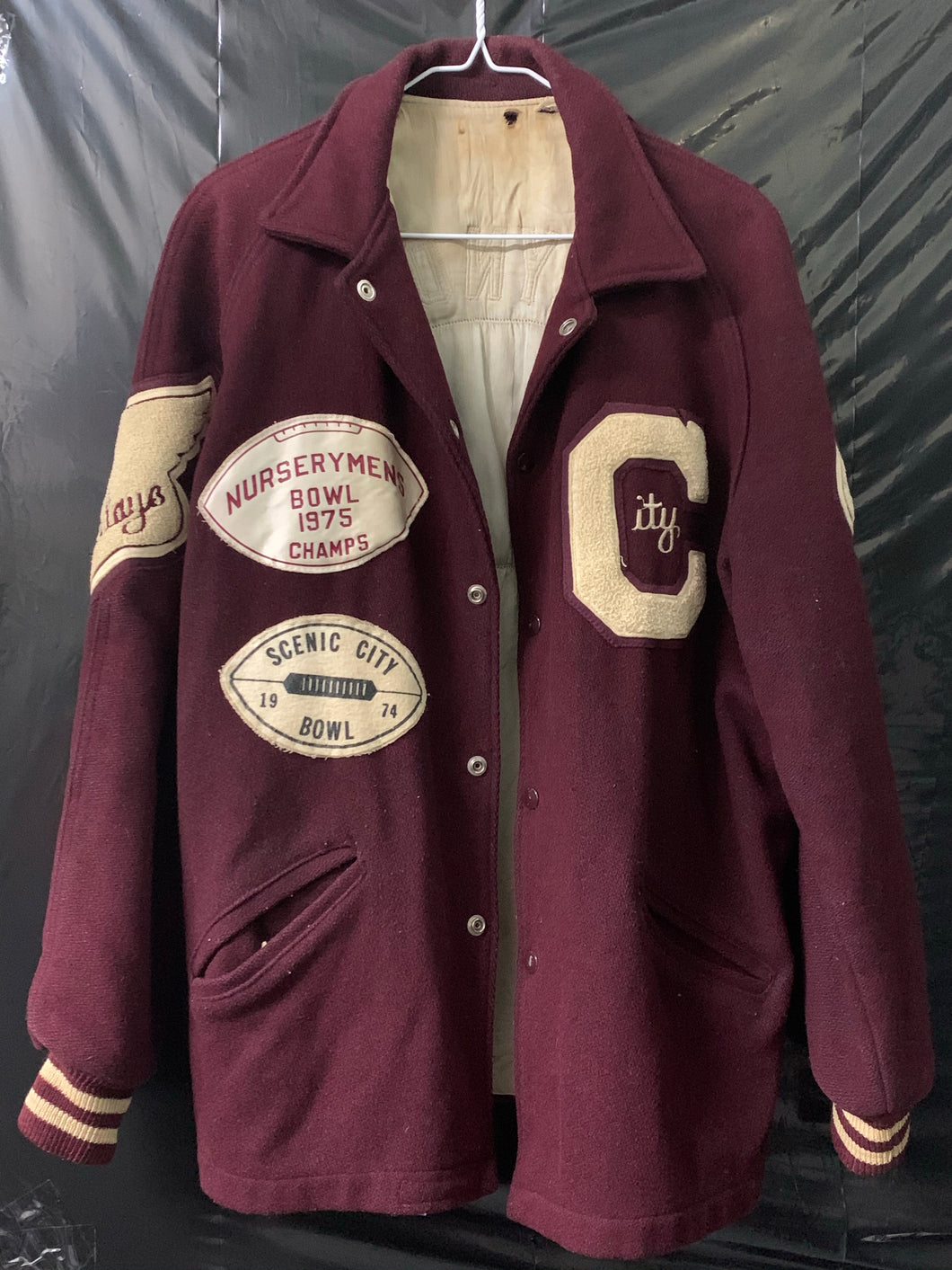 McReynolds Wool Letterman Jacket 1974 (M)