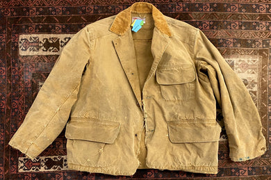 Vintage 40s Duxbak Canvas Hunting Jacket