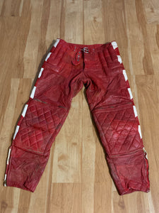 1960s Leather Racing Pants