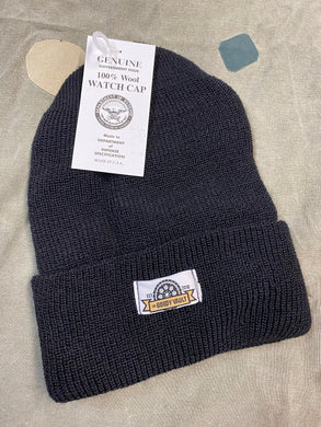 Wool Goody Vault Watch Cap- Black
