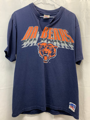 "Chicago Bears ""Da Bears"" Nutmeg Tee 1990s"