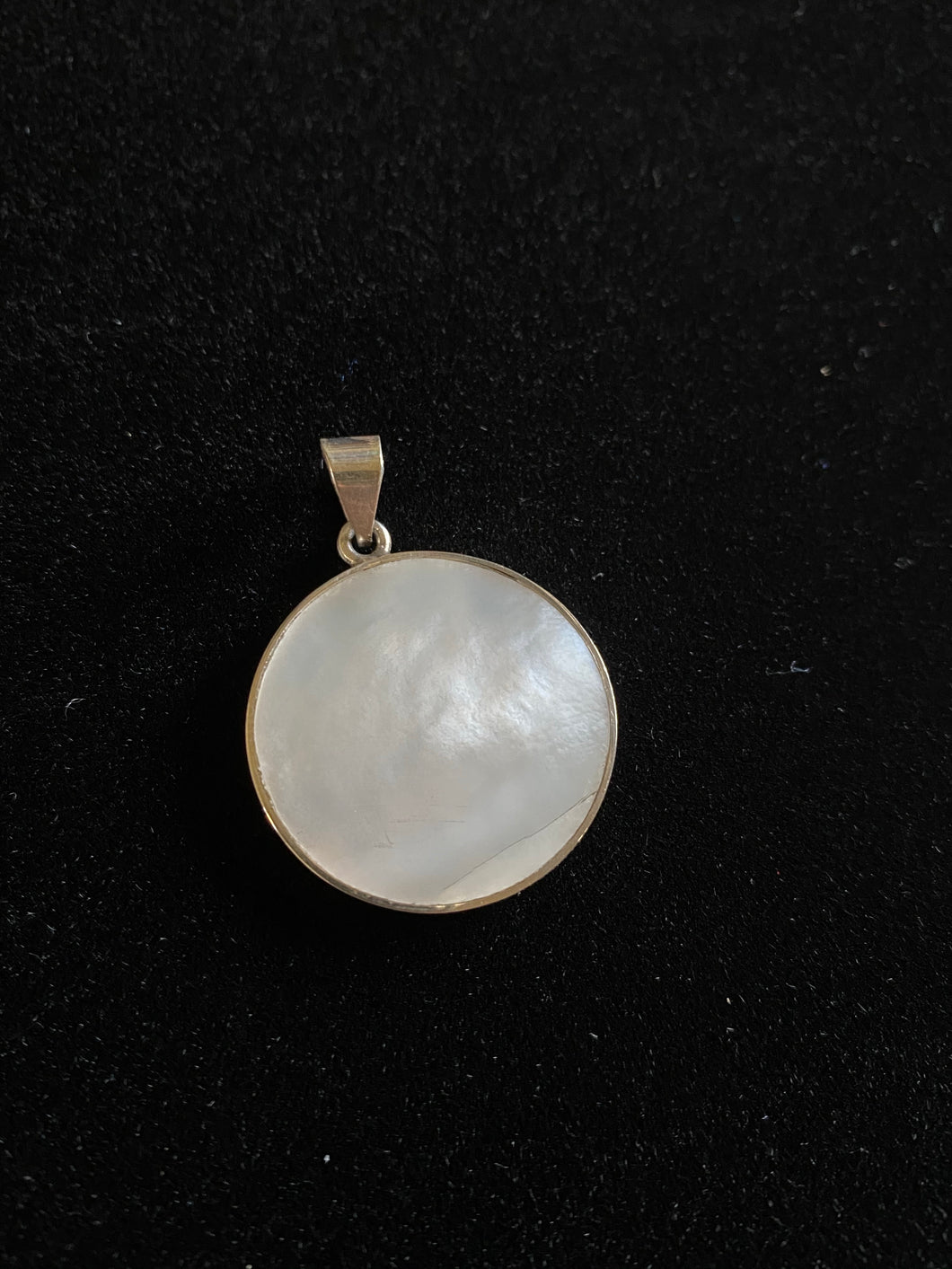Handmade Silver & Mother Pearl Pendant