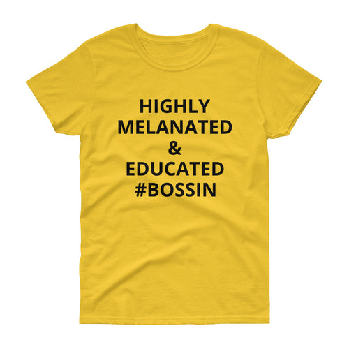 Melanated tees colorful Women's short sleeve t-shirt