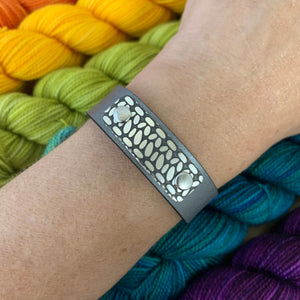 ROWAN CROCHET LEATHER CUFF