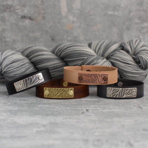 ROWAN BRAMBLE LEATHER CUFF