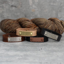 ROWAN STOCKINETTE LEATHER CUFF