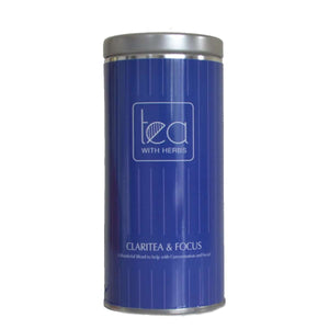 Claritea & Focus - Gold Standard Organic Tea Leaves with Herbs to help with Concentration and Focus - Tea With Herbs
