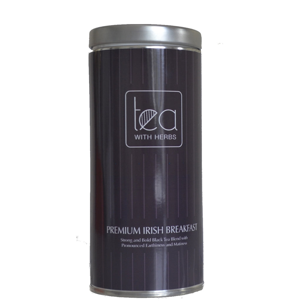 Premium Irish Breakfast - Gold Standard Organic Black Tea Leaves - Tea With Herbs