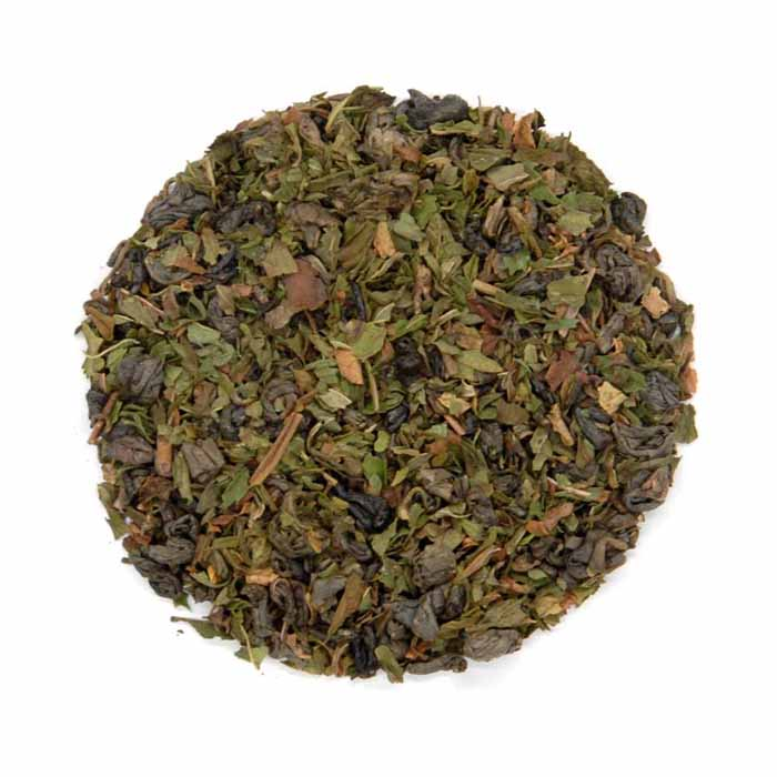 Moroccan Mint Ceremony - Gold Standard Organic Green Tea Leaves with Herbs - Tea With Herbs