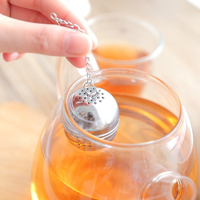 Stainless Steel Ball Tea Infuser - Tea With Herbs