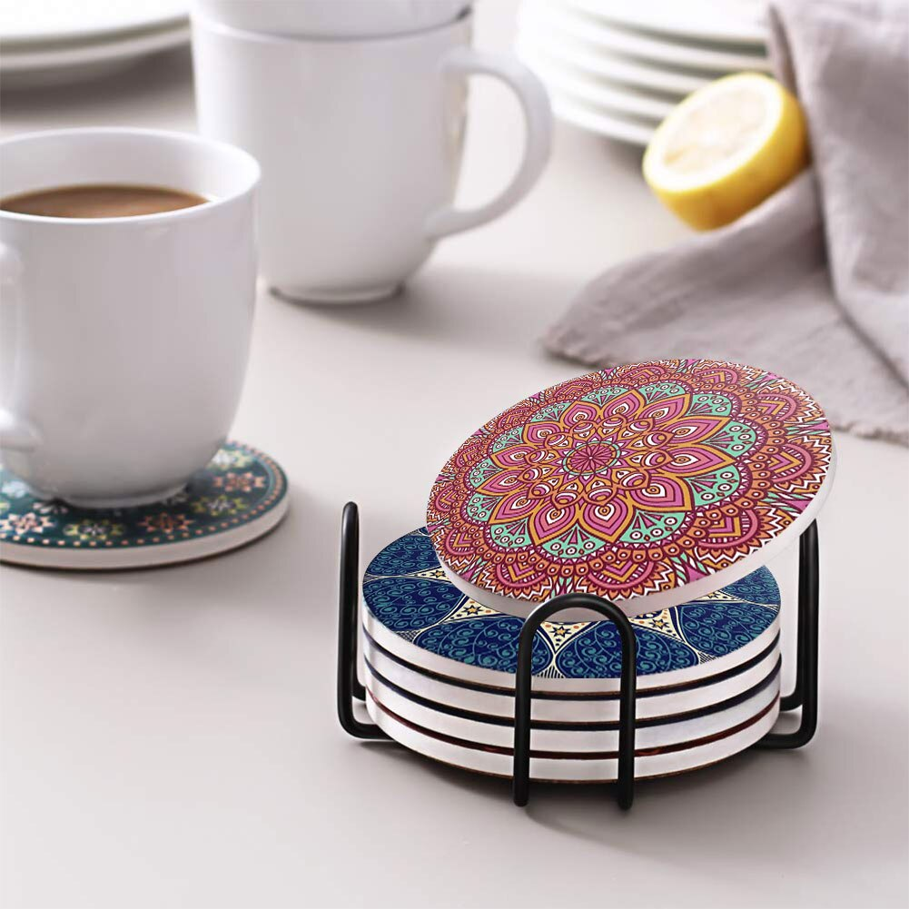 Moroccan Coaster Sets - Tea With Herbs