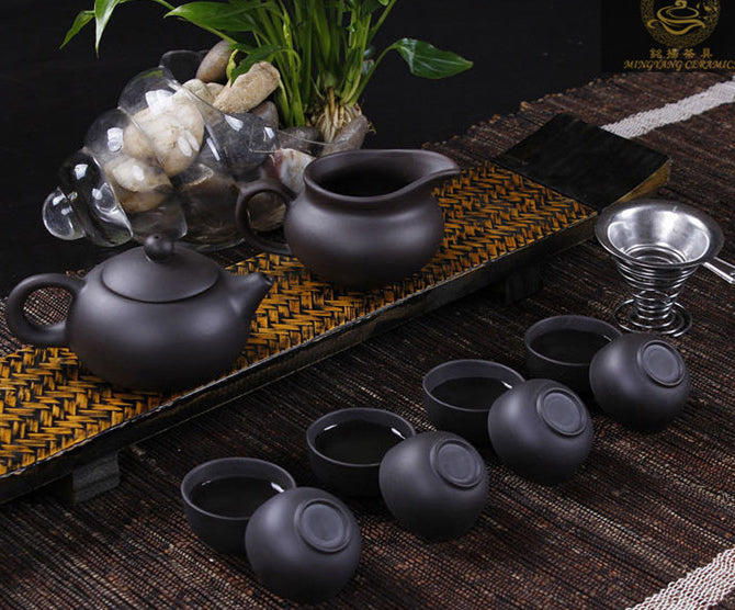 High quality Yixing Purple Clay Tea Set - Tea With Herbs