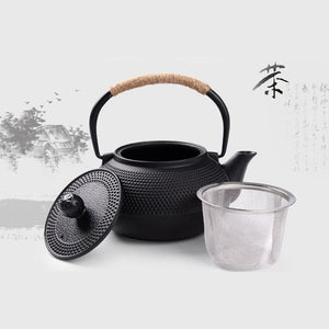 Southern Cast Iron kettle - Traditional Design - 800 ml - Tea With Herbs