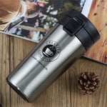 Stainless Steel Tumbler - Double Wall Vacuum Flask Bottle for Tea and Coffee - Tea With Herbs
