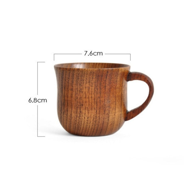 Handmade Wooden Cup (One Piece) - Tea With Herbs