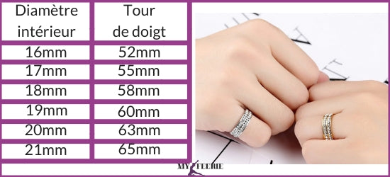 How to choose the ring size slimming ring weight loss-shop my féerie