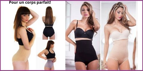 Best slimming shapewear shorty panty wrap flat stomach effect tested and approved-my Féerie