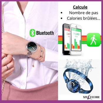 Montre connectée intelligente de fitness SMARTFIT™ - MY FEERIE