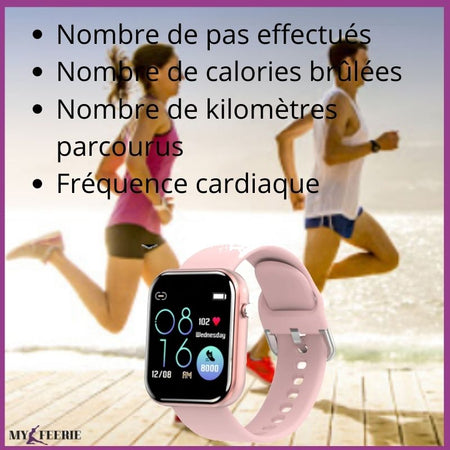 Montre connectée de sport FITWATCH™ - MY FEERIE