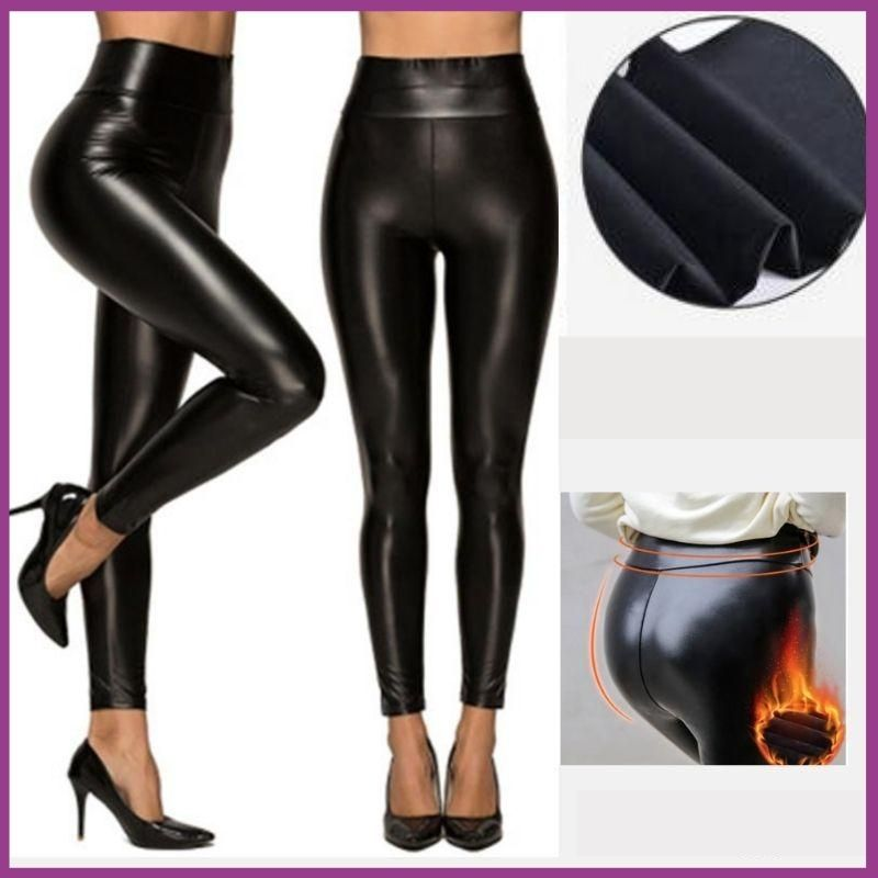 Pantalon slim simili cuir PUSSY-UP™ - MY FEERIE