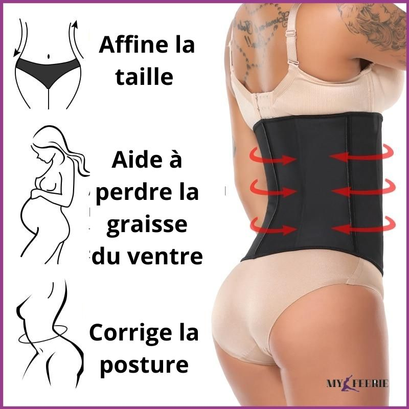 Gaine amincissante latex BODYFIT™ - MY FEERIE