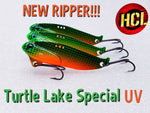 Turtle Lake Special UV Ripper Blade Bait
