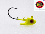 Barracuda Chartreuse Swim Bait Head