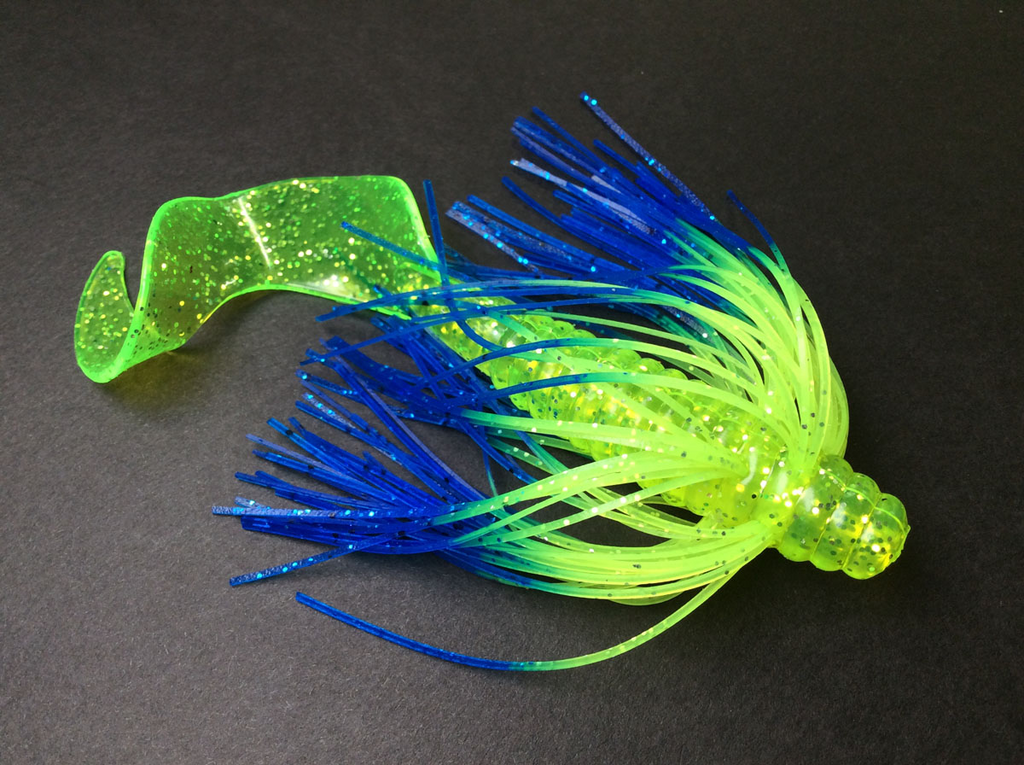 "TightlinesUV 5"" Curly Tail Swim Bait"