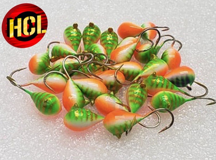 Panfish Pro Series Glow Jigs 7mm