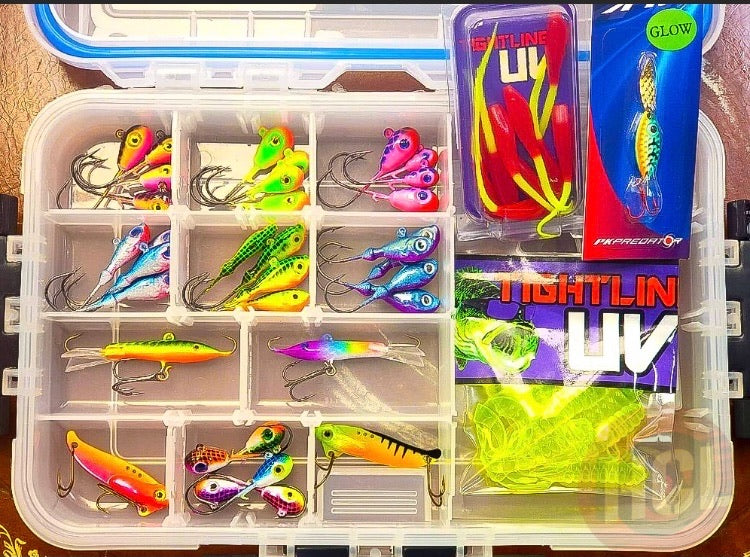 Tackle Box - Walleye - Pike - Lake Trout - HCL EPIC Medium Loaded Case