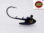 Barracuda Black Swim Bait Head