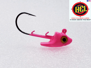Barracuda Pink Swim Bait Head