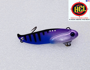 Purple Pearl Perch Ripper Blade Bait