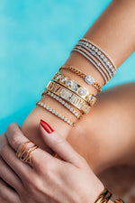 THE NOA CHARM BANGLE