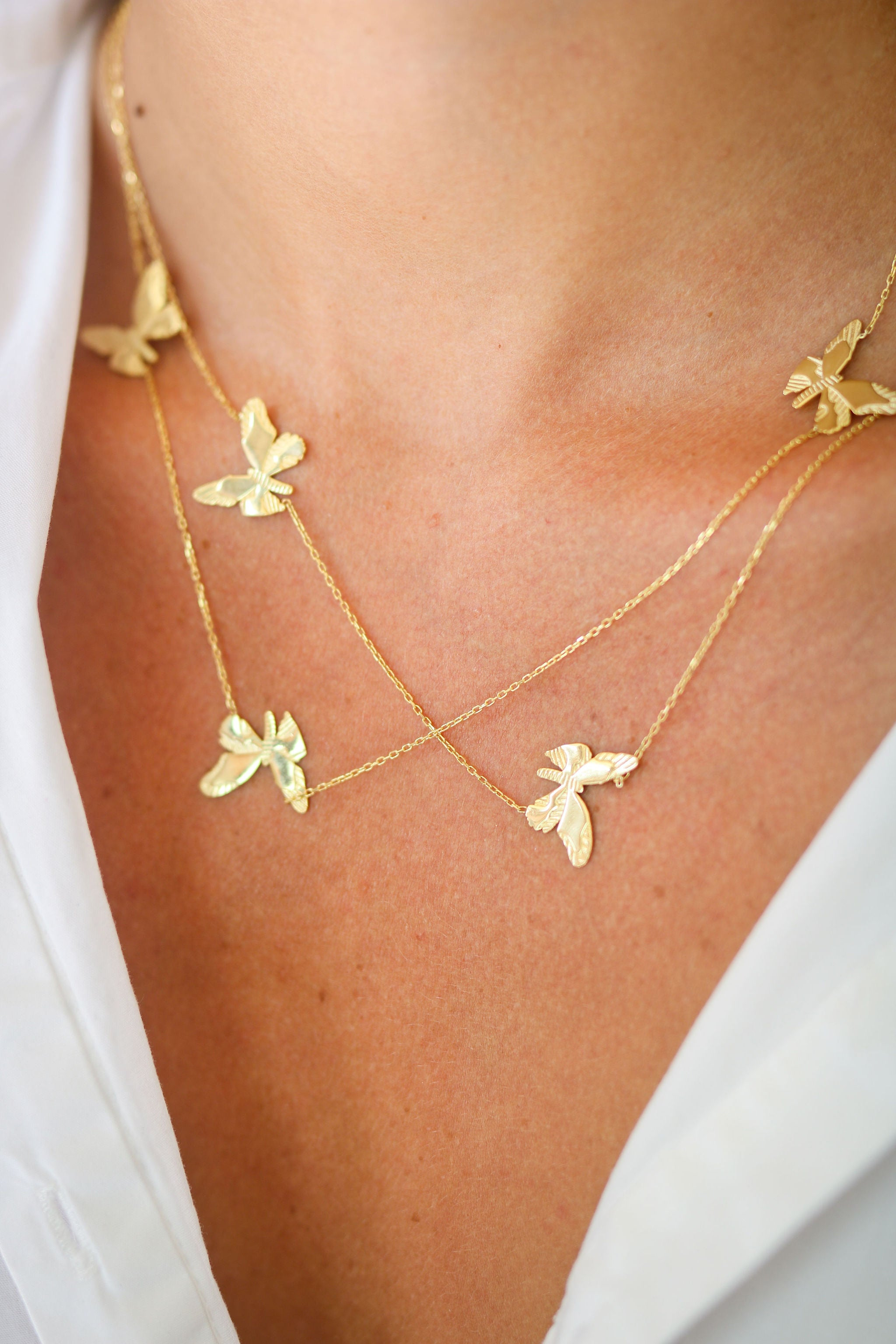 Noemi Butterfly Necklace