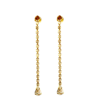 Jacqueline Strass Earrings