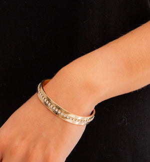 Diamond Encrusted Bangle