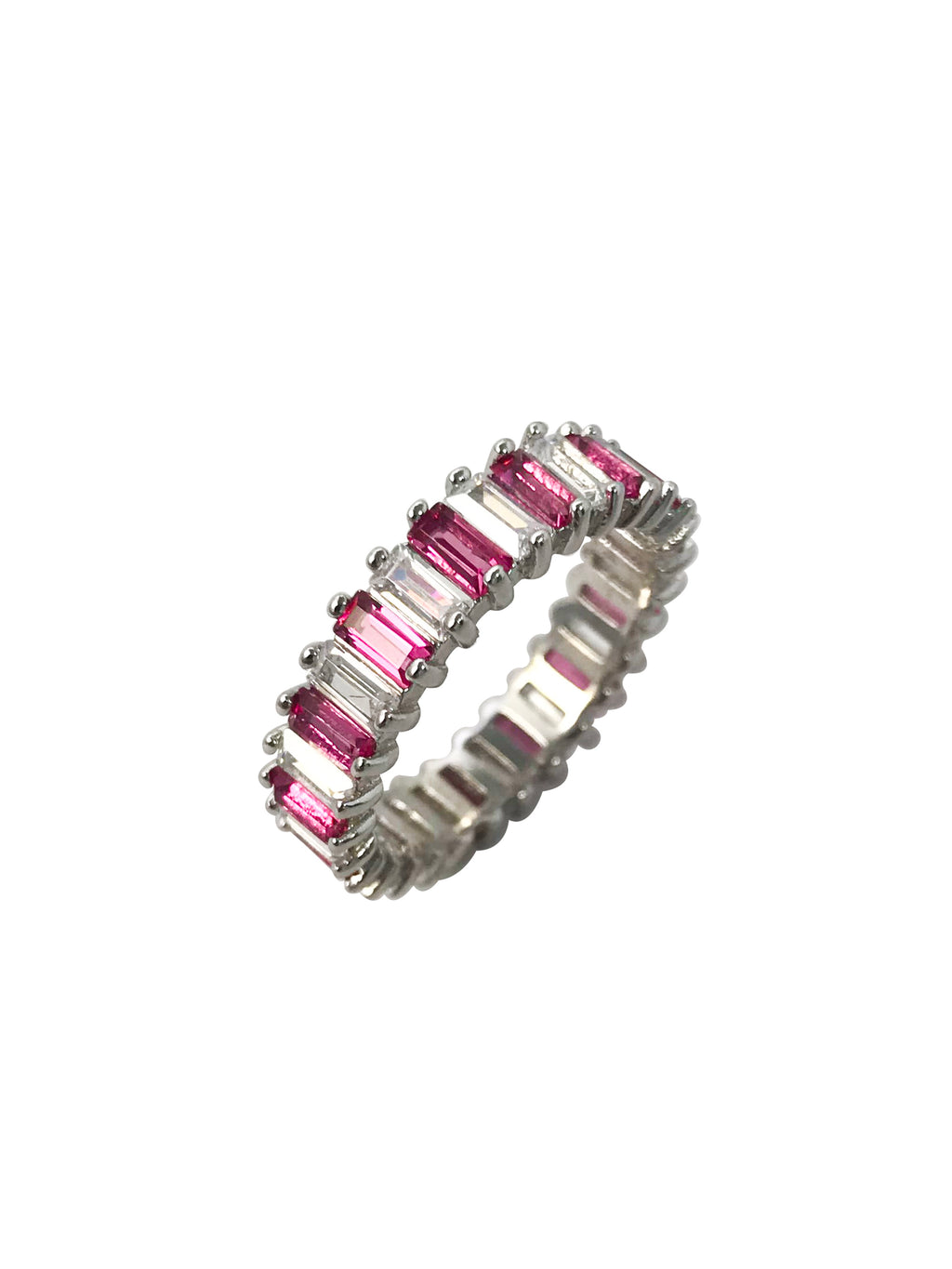 Eliana Emerald Ring (Pink Ruby)
