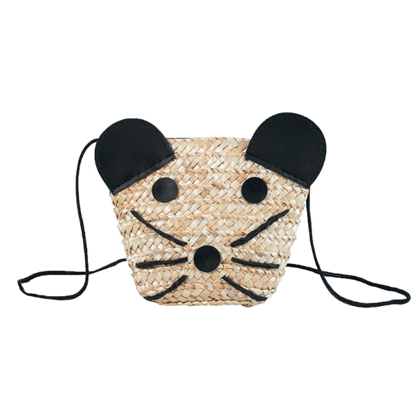 Kitten small beach bag