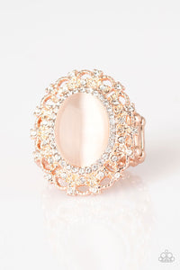 BAROQUE The Spell - Rose Gold Paparazzi Ring - Pink Dragon Jewels