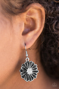Distracted By Daisies - Black - Pink Dragon Jewels