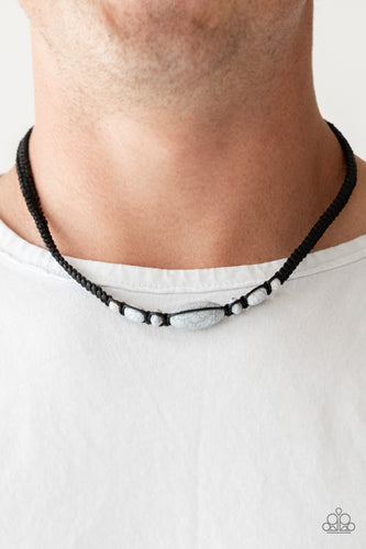 Extra Explorer - Black Paparazzi Necklace - Pink Dragon Jewels