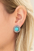 Load image into Gallery viewer, Saharas Finest - Blue Paparazzi Earring - Pink Dragon Jewels