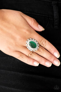 BAROQUE The Spell - Green Paparazzi Ring - Pink Dragon Jewels