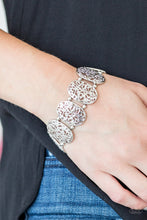 Load image into Gallery viewer, Everyday Elegance - Silver Paparazzi Bracelet - Pink Dragon Jewels