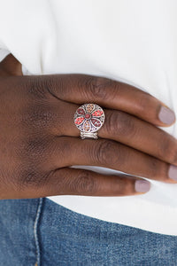 Summer Sandcastles - Brown Paparazzi Ring - Pink Dragon Jewels