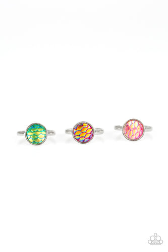 Mermaid Scale Rings - Paparazzi Starlet Shimmer - Pink Dragon Jewels