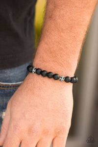 Amiable - Black Paparazzi Bracelet - Pink Dragon Jewels