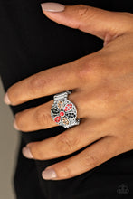 Load image into Gallery viewer, Summer Sandcastles - Orange Paparazzi Ring - Pink Dragon Jewels